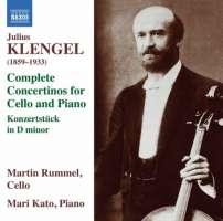 Klengel: Cello Concertinos for Cello and Piano