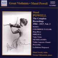 GREAT VIOLINISTS - POWELL vol. 3