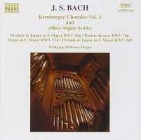 BACH: Kirnberger Chorales vol. 1