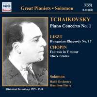WYCOFANY    TCHAIKOVSKY: Piano Concerto No. 1/ CHOPIN: Etudes