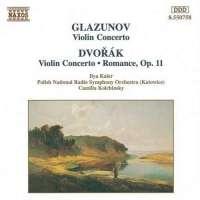 GLAZUNOV / DVORAK: Violin Concertos