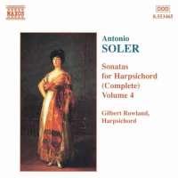 SOLER: Sonatas for Harpsichord Vol. 4