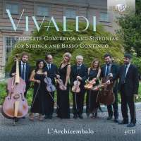 Vivaldi: Complete Concertos and Sinfonias for Strings and Basso Continuo