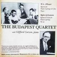 Mozart: Piano Quartet / Schumann: Piano Quintet