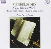 Mendelssohn: Songs without Words, Vol.1