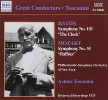 HAYDN / MOZART: Arturo Toscanini ( 1929 )