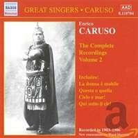 CARUSO, Enrico: Complete Recordings, Vol. 2 (1903-1906)