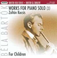 Bartok: Works for piano solo 3