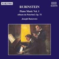 RUBINSTEIN; Album de Peterhof, Op. 75