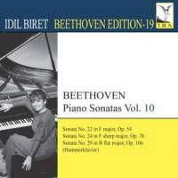 BEETHOVEN: Piano Sonatas, Vol. 10 (Biret Beethoven Edition, Vol. 19)