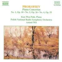 PROKOFIEV: Piano Concertos 1, 3 & 4
