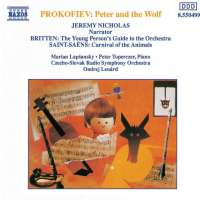 PROKOFIEV:  Peter and the Wolf (with narration) / SAINT-SAËNS, C.: Carnival of the Animals