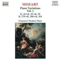 MOZART: Piano Variations vol. 1