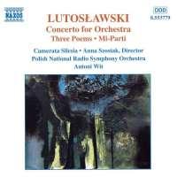 Lutosławski: Orchestral Works Vol. 5