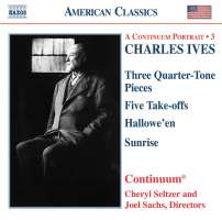 IVES: Three Quarter-Tone Pieces ...