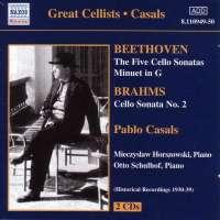 Beethoven: Cello Sonatas Nos 1-5; Minuet in G / Brahms: Cello Sonata No 2