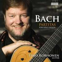 Bach: Partitas (Partita Nos.1-3 Arranged For Solo Guitar)