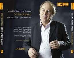 Hasse / Metastasio: Attilio Regolo, Opera in 3 acts