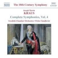 KRAUS: Complete Symphonies Vol. 4
