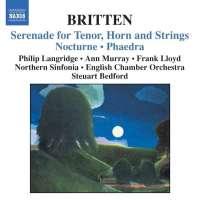 BRITTEN: Serenade for Tenor, Horn, and Strings