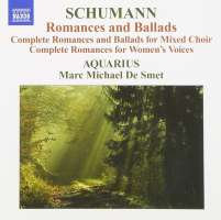 SCHUMANN: Romances and ballads