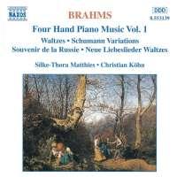 BRAHMS: 4hand Piano Music vol. 1
