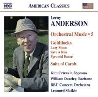 ANDERSON: Orchestral music vol. 5