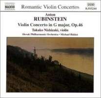 RUBINSTEIN: Violin Concerto / CUI: Suite Concertante
