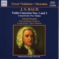 Bach: Violin Concertos nos. 1&2