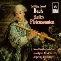 Bach CPE; Complete Flute Sonatas