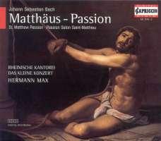 Bach: Matthaus passion (St Matthew Passion) BWV 244