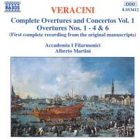 VERACINI: Overtures and Concertos, Vol.  1