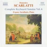 SCARLATTI: Keyboard sonatas vol. 6