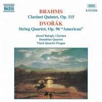 "BRAHMS: Clarinet Quintet  in B minor  /  DVORAK: String Quartet No. 12, ""American"""