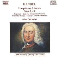 Handel: Harpsichord Suites Nos. 6- 8