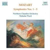 Mozart: Symphonies 1-5