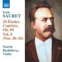 Sauret: 24 Etudes-Caprices Op. 64 Vol. 4