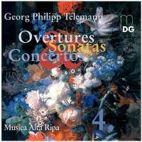 Telemann: Concertos & chamber music vol. 4