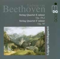 BEETHOVEN: String quartets op. 95 & 59,2