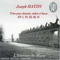 Haydn: Trios pour clavecin, violon & basse