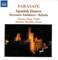 SARASATE: Music for Violin & Piano Vol.