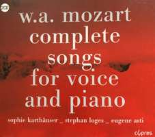 Mozart: Complete Songs for Voice and Piano