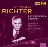Richter plays Schumann & Brahms
