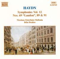 Haydn: Symphonies Nos. 69, 89, 91(Vol. 12)