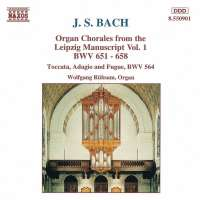 BACH: Organ Chorales vol. 1