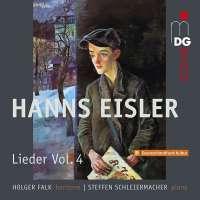 Eisler: Lieder Vol. 4