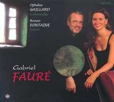 Faure: Sonatas for cello and piano