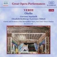 Verdi : Otello ( r. 1938 )