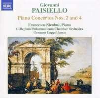 PAISIELLO: Piano Concertos Nos. 2 and 4; Proserpine Overture