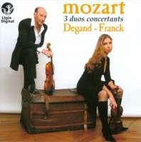 Mozart: 3 Duetti Concertanti Per Violino E